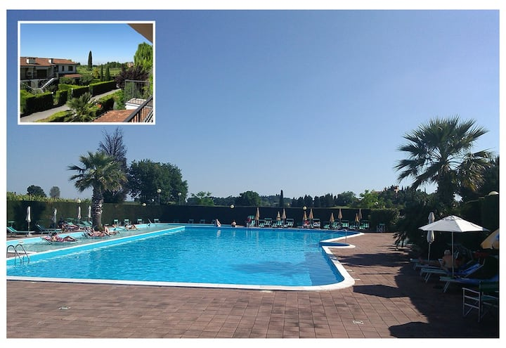 FEWO C-46 WITH PRIVATE GARDEN, WI-FI & POOL !!