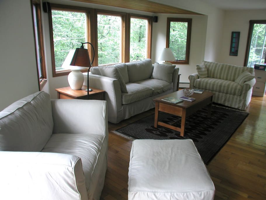 The old living room