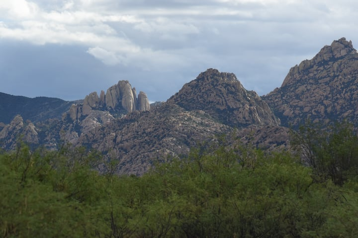 Quiet with beatiful views of Cochise Stronghold