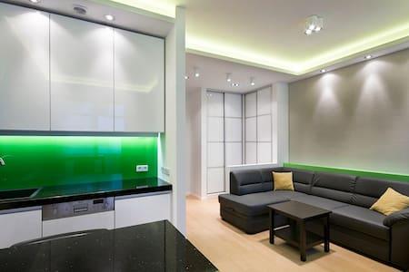 Green apartment, 5 min to beach - Gdańsk