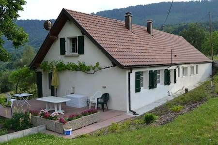 A house140 m2 on ground,9 slepps - Thannenkirch - Casa