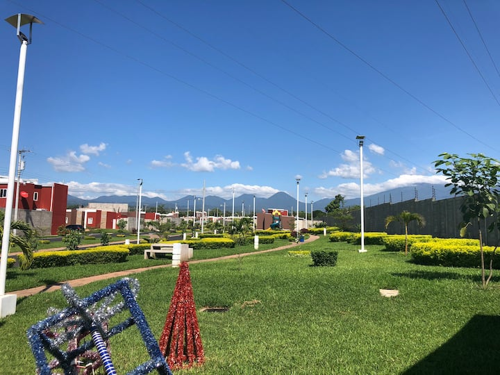 The Best View of volcanoes in private Residencial