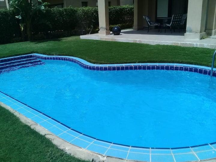 فيلا للايجار بي privit pool تحفه