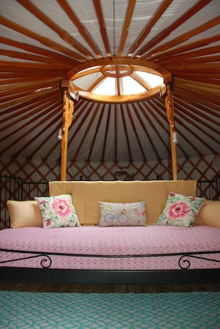 Luxury YURT glamping near to Futuroscope