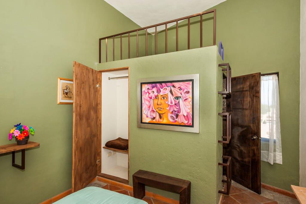Esta habitación se encuentra dentro del Acuarela B&B en San Miguel de Allende