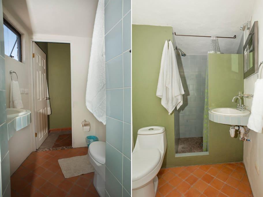 Baño habitación Limon