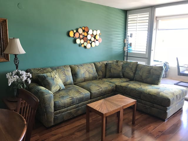 New living-room couch