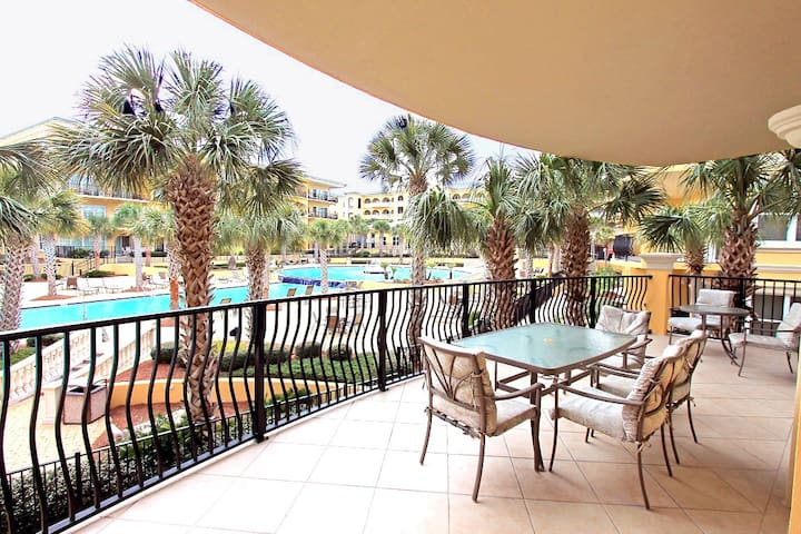 Adagio F205-30A-3BR- *Avail 4/28-5/4* Real Joy Fun Pass- Luxury! - Pool Front - Huge Balcony! - Santa Rosa Beach - Apartment