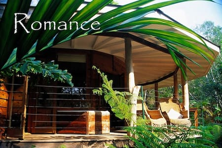 12 Sided Rainforest Lodge - Hytte