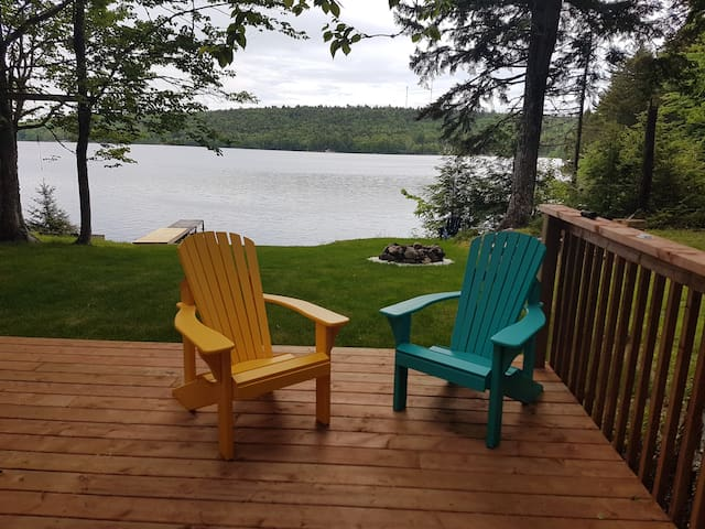 My Cottage is private lakefront newly renovated
