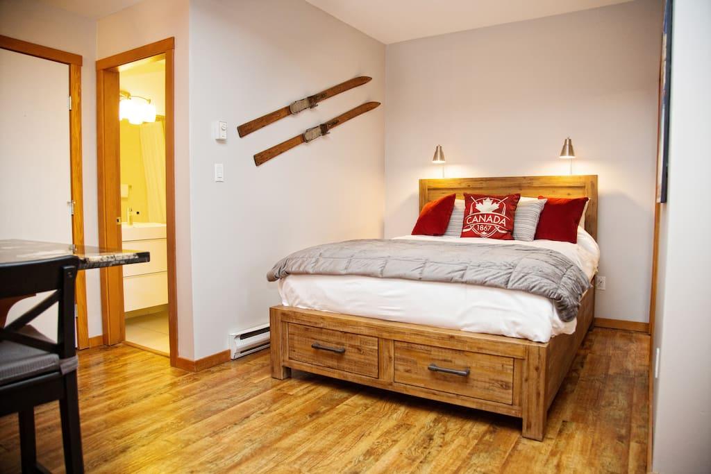 New queen bed!