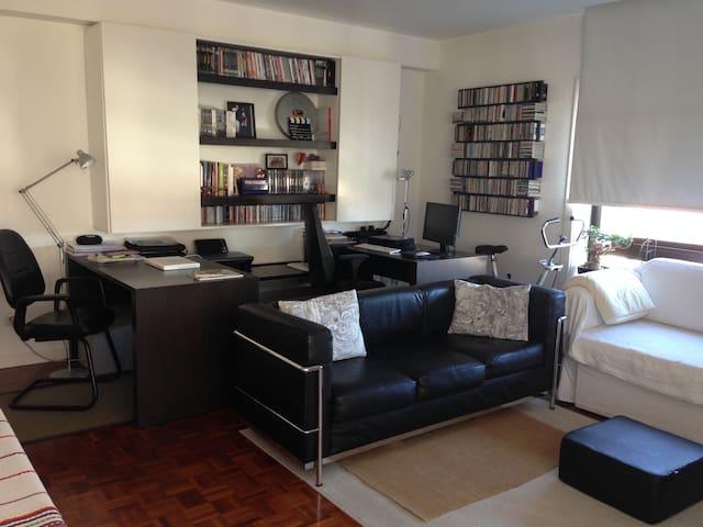 Apartamento moderno muito acolhedor