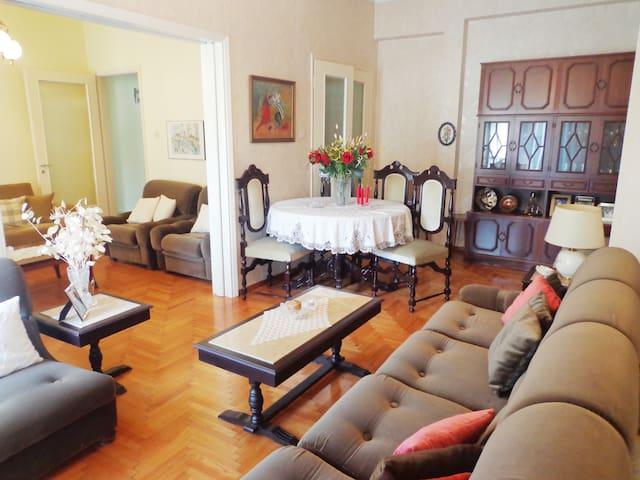 Super central & sunny apt + terrace - Trikala - Apartment