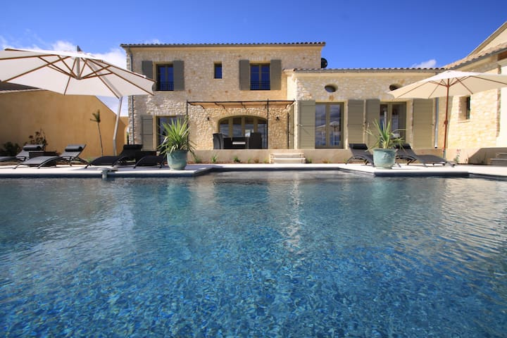 Luxury house in the South of France - Garrigues-Sainte-Eulalie - วิลล่า