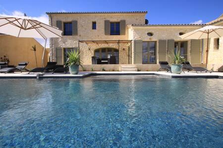 nouvelle maison grand comfort-Uzes - Garrigues-Sainte-Eulalie - Villa