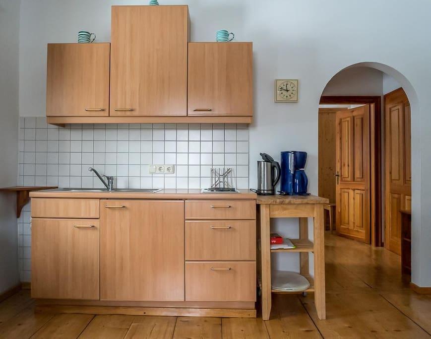 Wohnzimmer - Küchenzeile