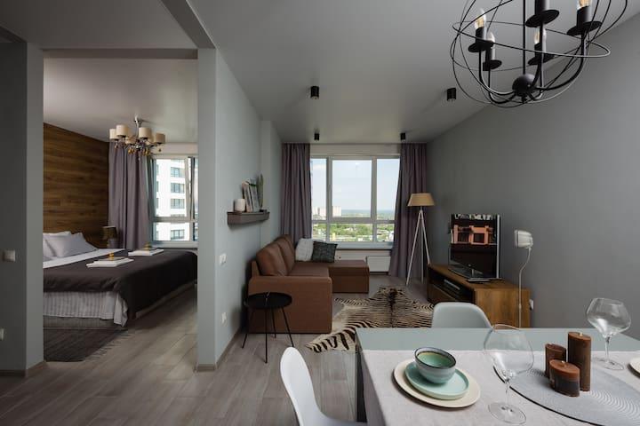 Luxury apartment Fusion #124 in Kiev
