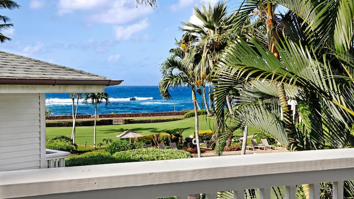 GREAT POIPU VALUE WITH AC! WALK TO SHOPS & DINING!