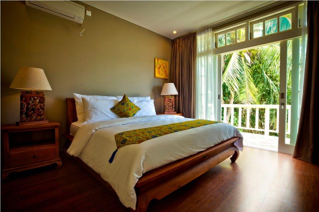Bedroom 2, Villa Nadia,  Canggu - Pererenan, Bali