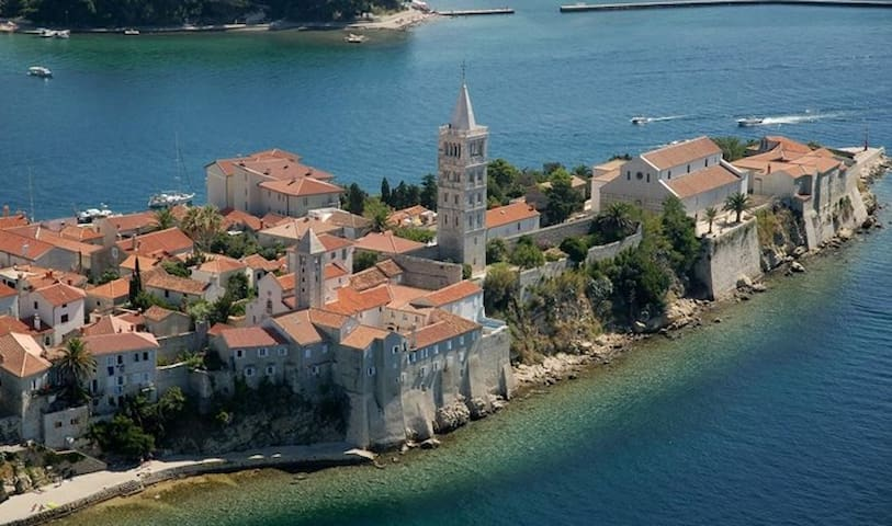 Charming Studio Apartment - Island Of Rab