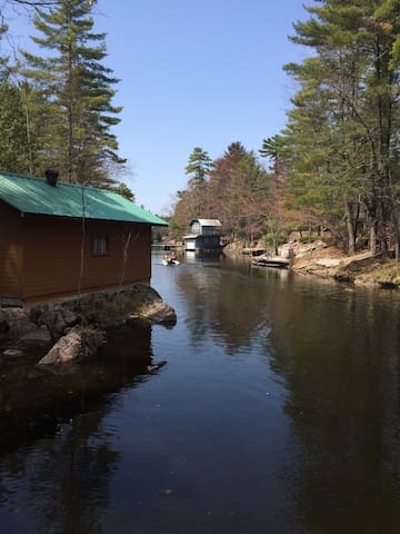 Stoney Lake cottage on private and quiet inlet