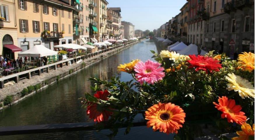 The Naviglio canal
