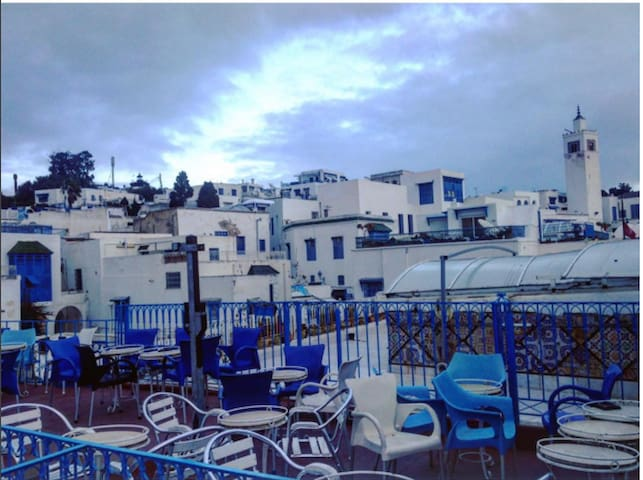 art café Sidi bou said