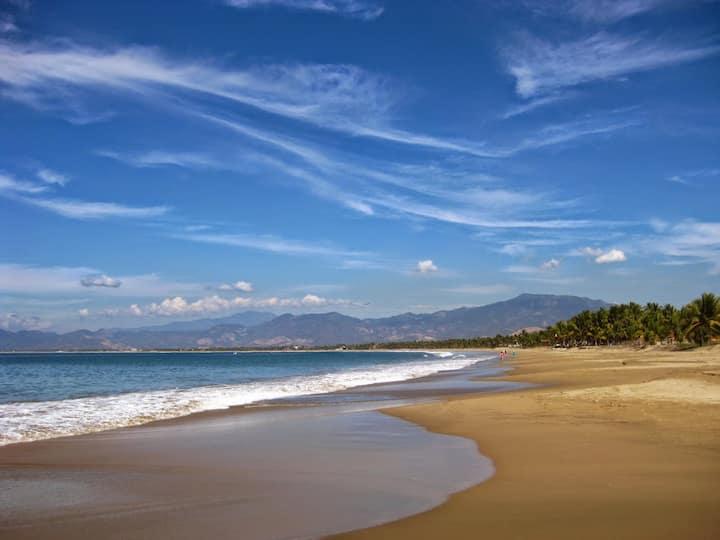Daisy 🏖 Paraíso con 2 albercas y 20 pasos a playa