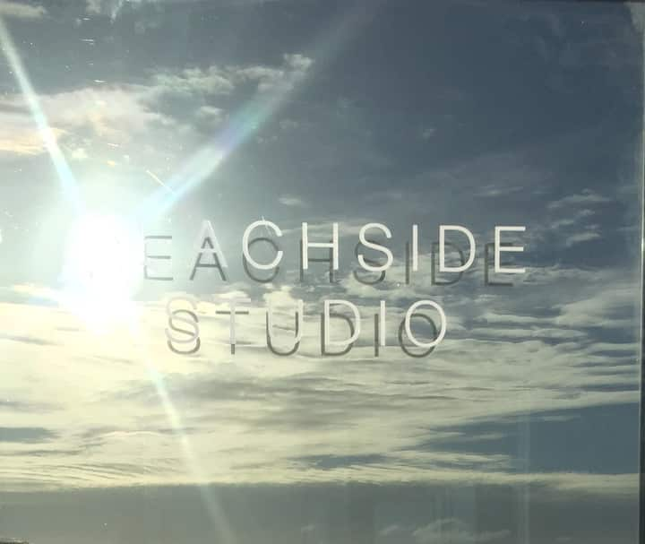 Beachside Studio (literally!!)