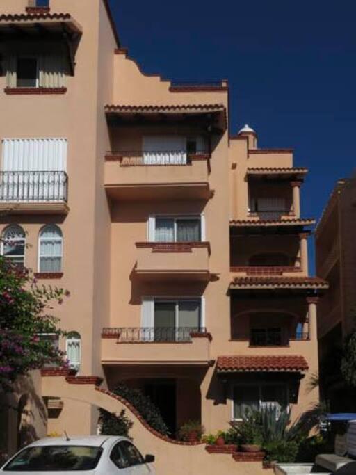 Casa Bonita is unit #9 (third level)