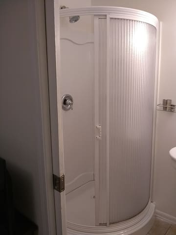 Shower only, no tub