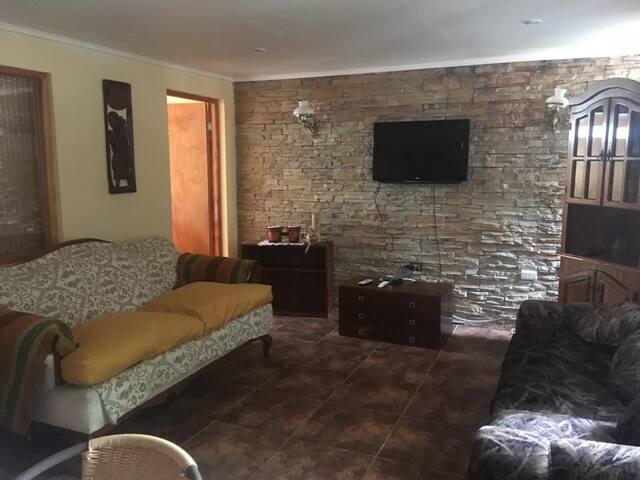 Acogedora casa en el corazón de Bahía Inglesa