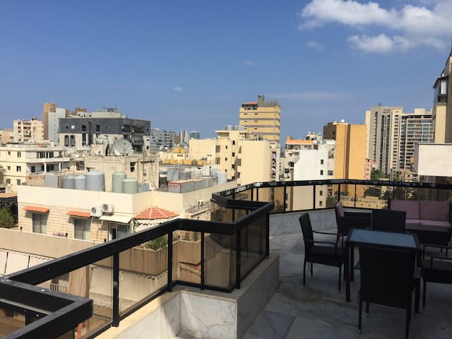 Beirut, spacious, secure, central, duplex