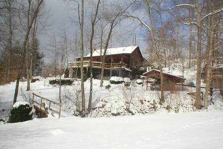 Cozy Cabin in Appalachian Mountains - Green Mountain - Cabaña