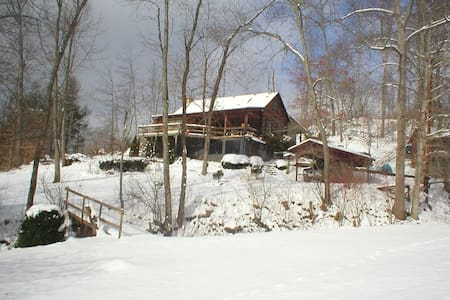 Cozy Cabin in Appalachian Mountains - Green Mountain - Srub