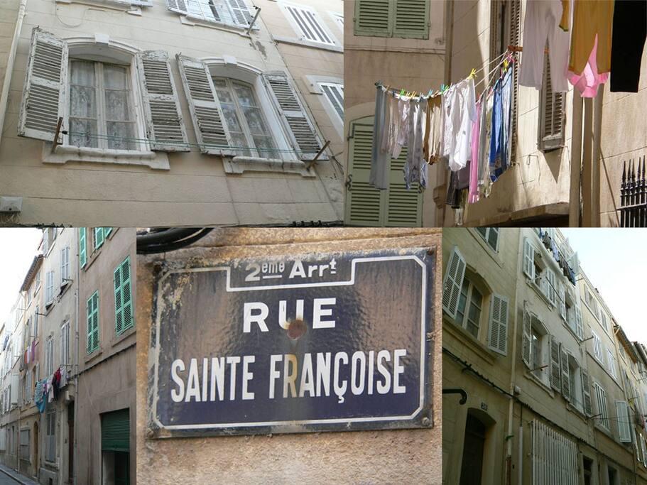 Ambiance de la rue, vous êtes à Marseille !