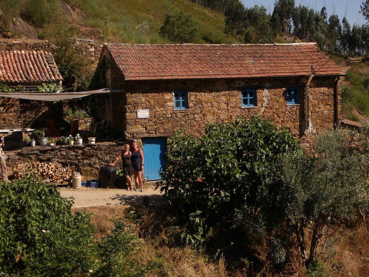 The small farmhouse of Agro-turismo Quinta da Fonte