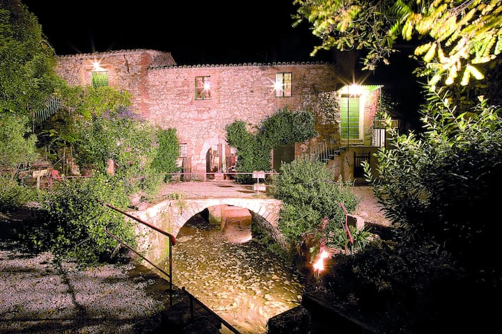 Todi living in an old water mill