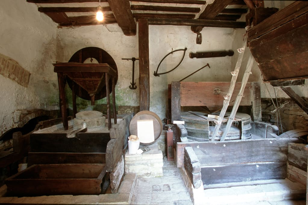 Le antiche macine del grano