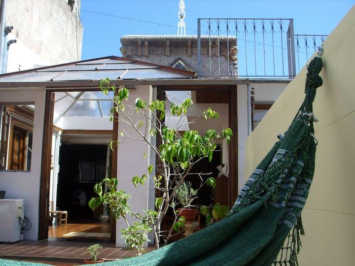 Sunny Hip Dome-Loft with 2 Terraces