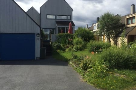 Siri&Arild two bedrooms (double bed+2single beds) - Bærum - Rekkehus