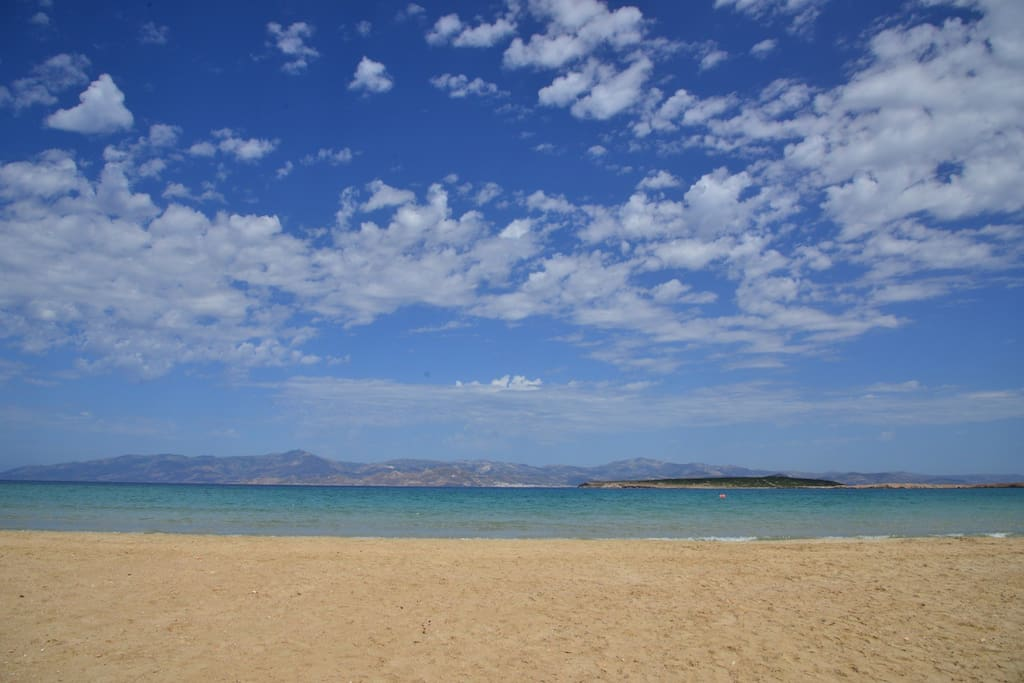 Welcome to the beautiful Santa Maria beach. You can enjoy swimming or sea sports