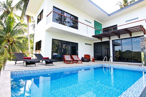 2 Floor Luxury Villa with Sea View & Swimming Pool