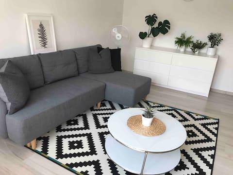 Cozy space for sunny mornings in Rezekne