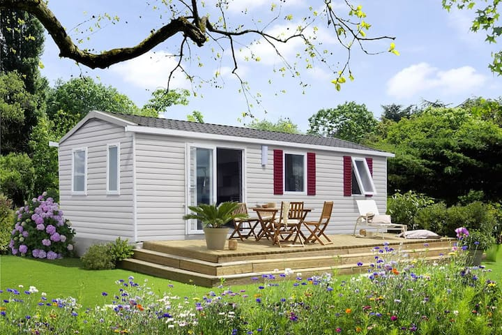 Mobil home neuf 2ch 6 pers 4* st jean de monts