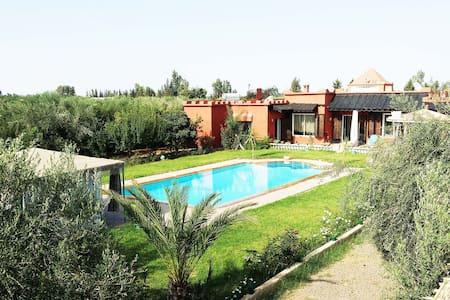 Marrakesh charming room pool - Marrakesh - Villa