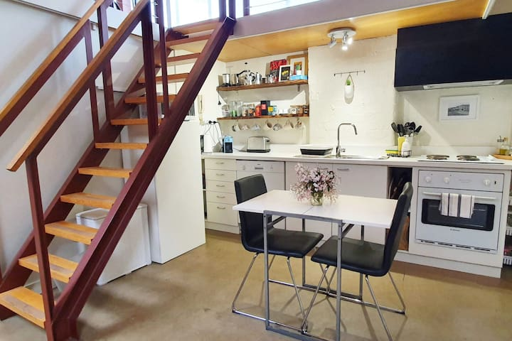 Fully equipped kitchen, help yourself to teas, coffee (Espresso Percolator & Greek Coffee Briki), hot chocolate and pantry items.