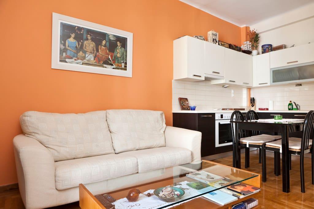 Sweet Apartment Near Panormou Metro