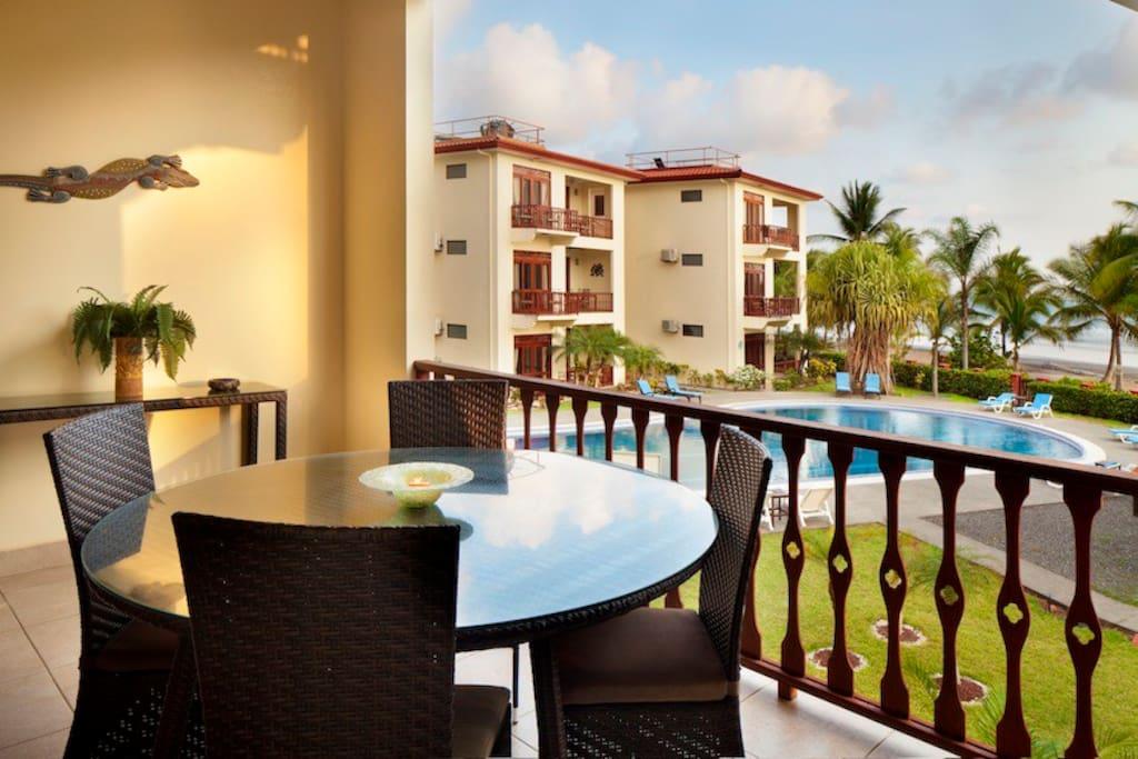 Comfy 2 bedroom condo at Bahia Azul