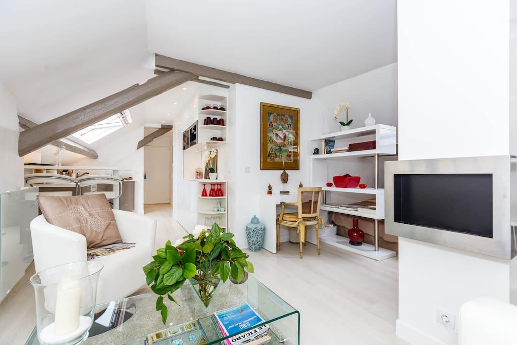Studio paris pr s du bois appartements louer - Chambre a louer neuilly sur seine ...